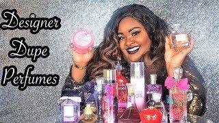 Designer Perfume Dupes Dior Ralph Lauren Soap & Glory Dior Viva la Juicy  Lancôme  Victoria's Secret