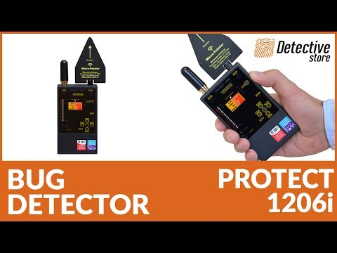 Counter Surveillance Device For Wiretaps Detection Protect 1206i