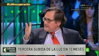 Discrepancias entre Francisco Marhuenda y el público de La Sexta Noche