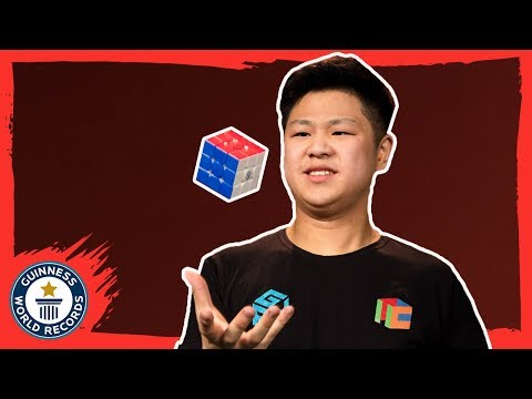 Max Park: Rubik's Cube World Champion - Meet The Record Breakers