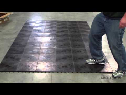 How to Install Cushioned Dance Floor Subflooring - Greatmats Home Dance Subfloor