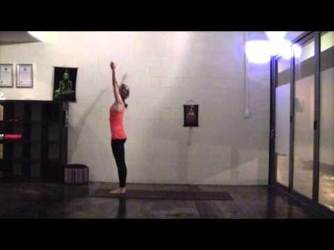 a simple sun salutation for beginner yogis  youtube