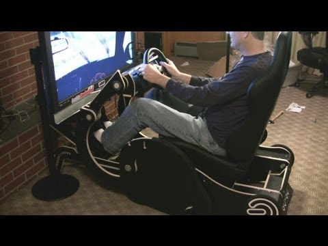 Rocking Chair Converts to Gaming Chair / Racing Rig- GO-GO Review by Inside Sim Racing
