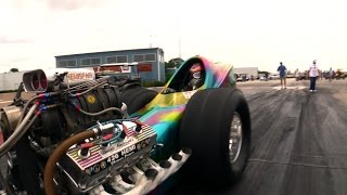 """Summer of Love"" Front Engine Dragster"
