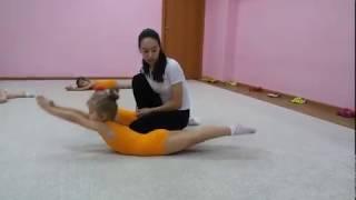 Детская гимнастика дома . Урок №6