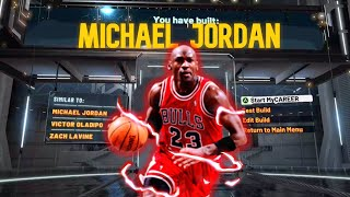 Best MICHAEL JORDAN Build on NBA 2K20! *LEGEND* MOST OVERPOWERED Build in NBA 2K20!