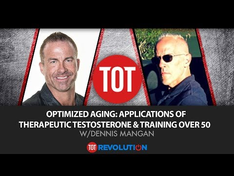 Optimized Aging: Applications of Therapeutic Testosterone & Training Over 50 w/Dennis Mangan