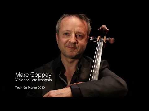 Interview du violoncelliste Marc Coppey (Tournée Maroc 2019)