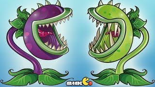 Plants Vs Zombies 2 Online - Original Chomper Vs New Chomper Part 4 (China Version)