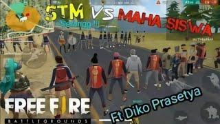 TAWURAN FREE FIRE ANAK STM VS MAHASISWA RATUSAN PLAYER MUSNAH !! ~ FT DIKO PRASETYA