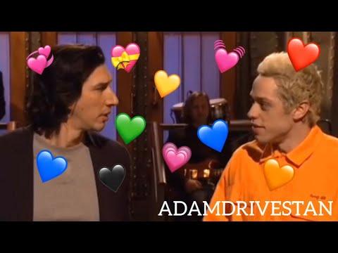 adam driver being annoyed by SNL actors except pete davidson SNL VERSION