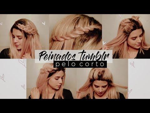 Peinados Faciles Para Pelo Corto Youtube