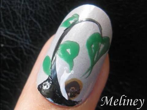 nail art tutorial backyard snail
