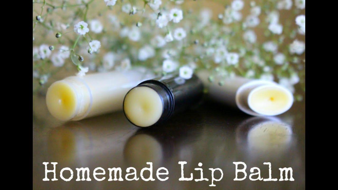 2 Ingredient Homemade Lip Balm / Easy