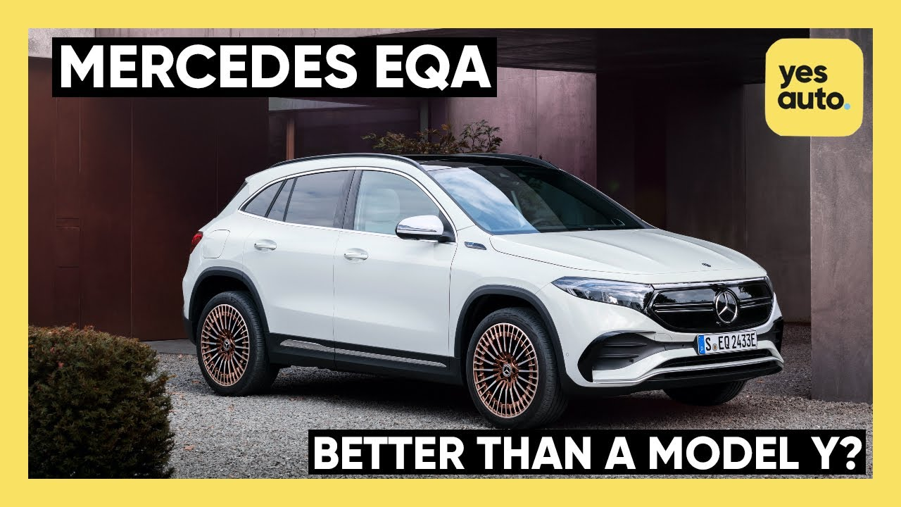 NEW Mercedes-Benz EQA 2021 : Can it take on the Model Y and VW ID.4?