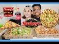 SHAKEY'S PIZZA MUKBANG + (OUR LOVESTORY) Lande Haha | Sassa Del Rio