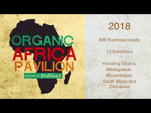 Organic Africa Pavilion - BioFach 2018