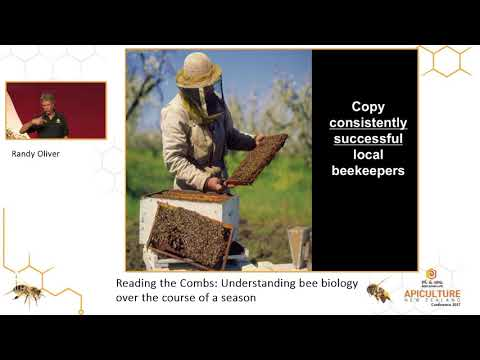 Apiculture New Zealand - Randy Oliver Workshop 1