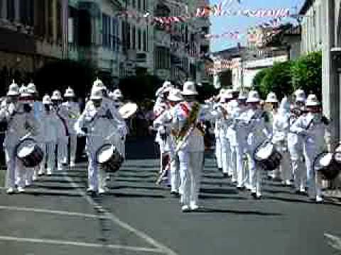 Band of HM Royal Marines at Gibraltar 2004 (2)