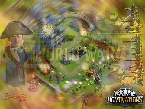 #126. DomiNations 1. Attack 101. Worldwar - alliance chat and upgrade plans