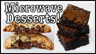 Diy: Microwave Brownie & Choc. Chip Cookie In A Mug!