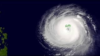 超強颱風「山竹」