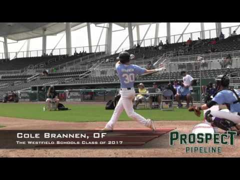 Cole Brannen Prospect Video, SS, THe Westfield Schools Class of 2017
