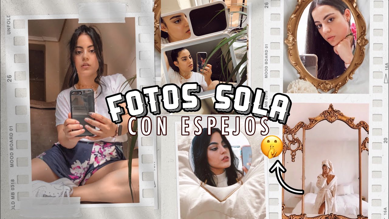 COMO HACERTE FOTOS EN CASA CON EL MÓVIL- (ESPEJOS + TRUCOS) EASEHOLD
