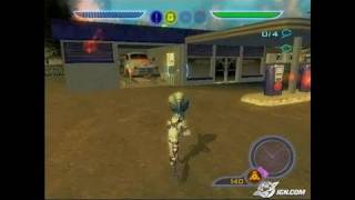 Destroy All Humans! PlayStation 2 Gameplay - Alien rampage
