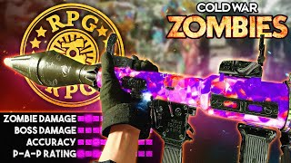 Cold War Zombies: The RPG Pack-A-Punched.. IS DEVASTATING!