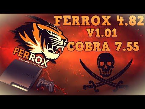 ПРОШИВКА PS3 CFW 4 81 FERROX COBRA 7 3 СКАЧАТЬ БЕСПЛАТНО