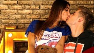 Как поцеловать парня первый раз в губы |Поцелуй без языка
