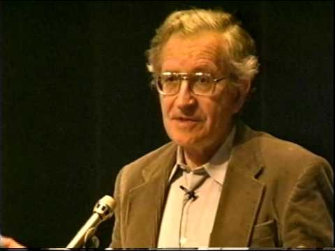 Noam Chomsky speaks about Universal Linguistics: Origins of Language