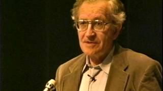 noam chomsky speaks about universal linguistics origins of language