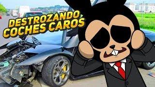 ROBLOX ⭐️ DESTROZANDO COCHES CAROS   iTownGamePlay