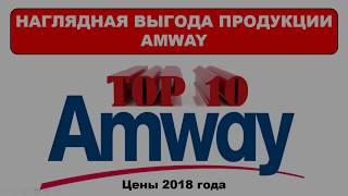 Экономия с AMWAY TOP 10 продуктов