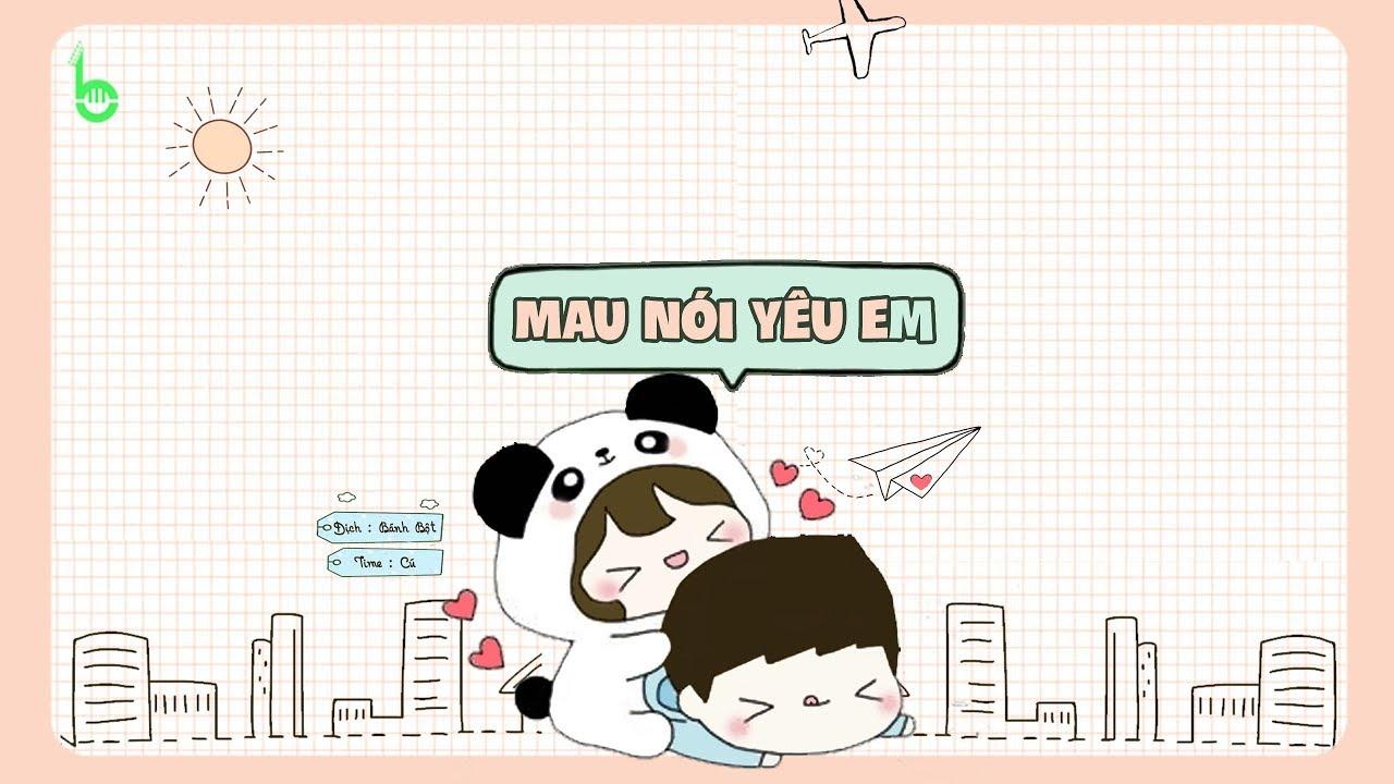 ♩ Mau Nói Yêu Em   快說你愛我 - Hạ Tử Linh   Lyrics [Kara + Vietsub] ♩ - YouTube