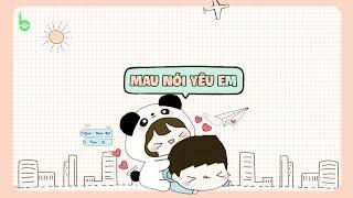 ♩ Mau Nói Yêu Em | 快说你爱我 - Hạ Tử Linh | Lyrics [Kara + Vietsub] ♩