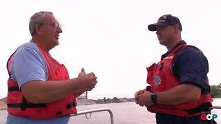 Sen. Victory visits the Grand Haven Coast Guard