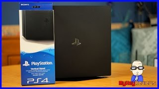 PS4 Pro - Vertical Stand Set-Up (PlayStation 4 Pro) | HowTo | MyKeyReviews
