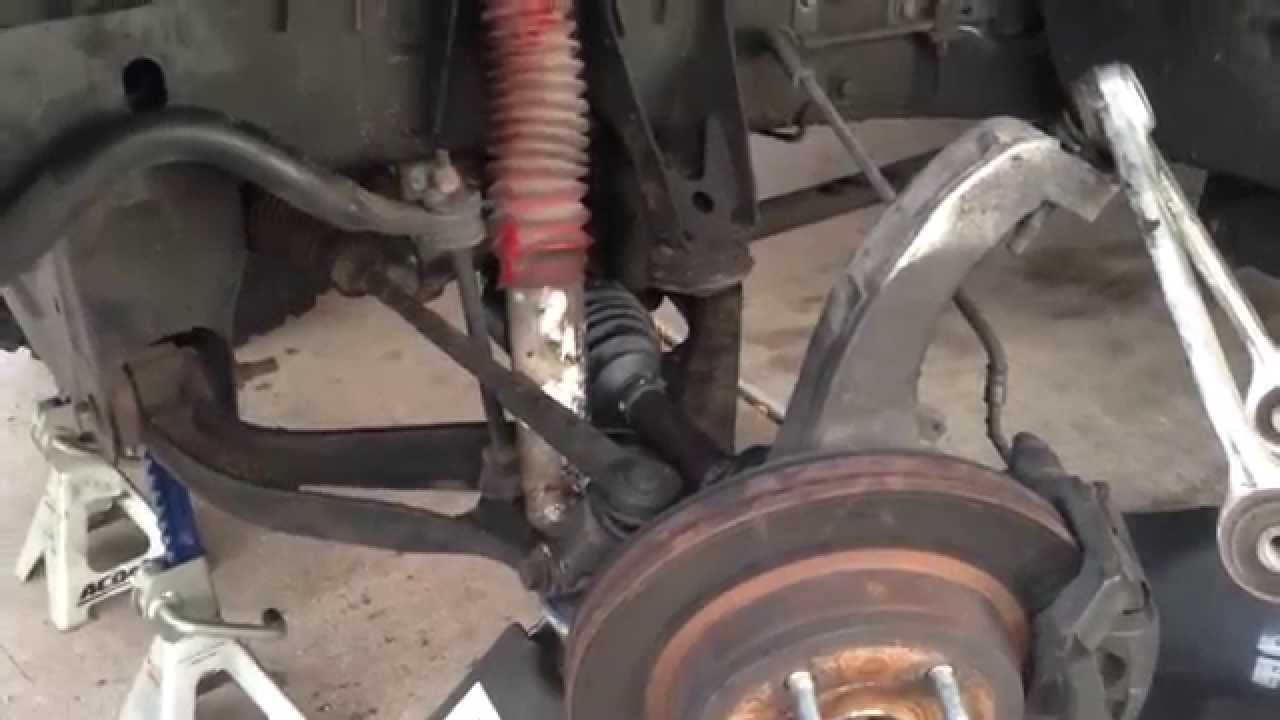 Half Shaft CV Axle Install  2005 Dodge Ram 1500 4x4  YouTube