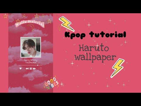 Watch Me Edit Kpop Wallpaper Aesthetic Edit Treasure Haruto Youtube
