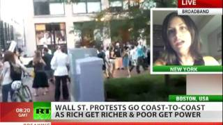 Occupy Boston: Police beat war veterans, 100 arrested