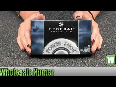 Federal Cartridge 270 Winchester 150Gr Power Shock Soft Point Ammo 270B Shooting Hunting Unboxing