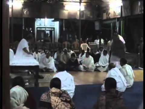 Param Pujyapad Acharyadeva Sri Sri Dada Blessing the Album Dayal Bhajananjali