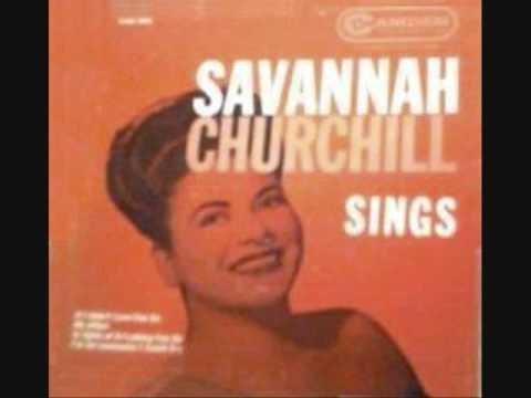 Savannah Churchill & The Four Tunes--Time Out For Tears