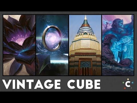 Vintage Cube #1 – MTG Conflux (3-headed cube)