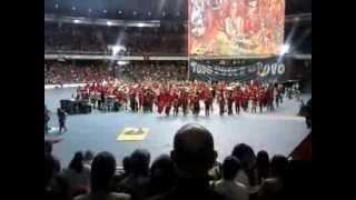 VI Congreso del Movimiento de los trabajadores Sin Tierra de Brasil. Canta la Internacional.