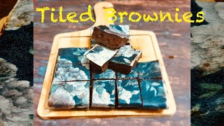 Tiled Brownies  Women&#39s Day Special Recipe  kwizinesbyammu  brownies Ammu  #tiledbrownies