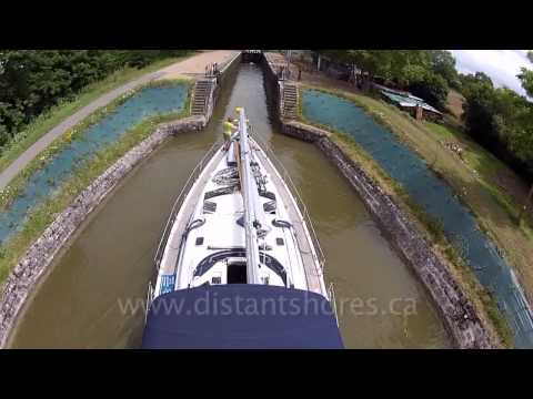 French Canals by Sailboat